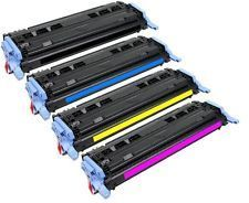 4x XXL-SET Toner HP Color LaserJet 1600 2600 2600N 2605 2605DN 2605DTN kompatible NEUWARE